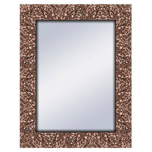 Espejo rectangular harper bronce bronce 70 x 90 cm