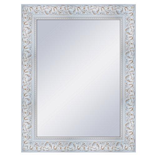 Espejo rectangular norah decapé blanco 68 x 88 cm