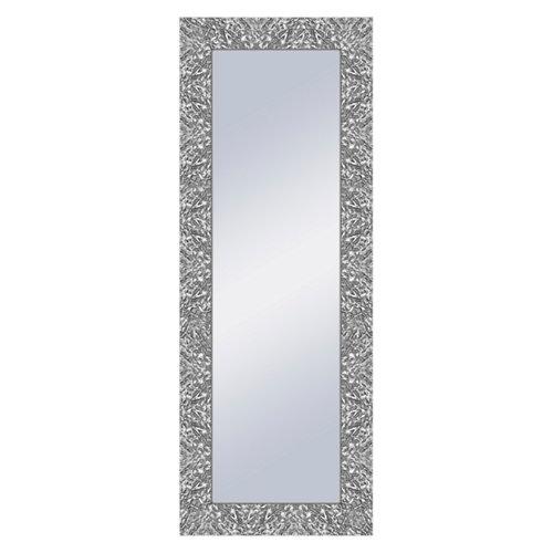 Espejo rectangular ben plata 159 x 59 cm