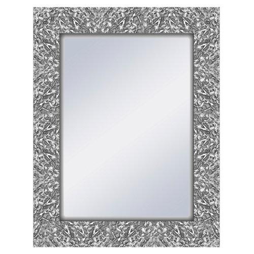 Espejo rectangular ben plata 69 x 89 cm