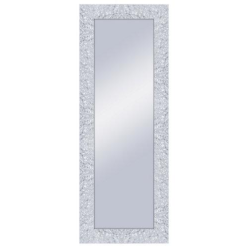 Espejo rectangular adams blanco 159 x 59 cm