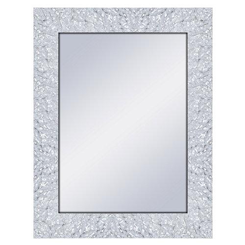 Espejo rectangular adams blanco 69 x 89 cm