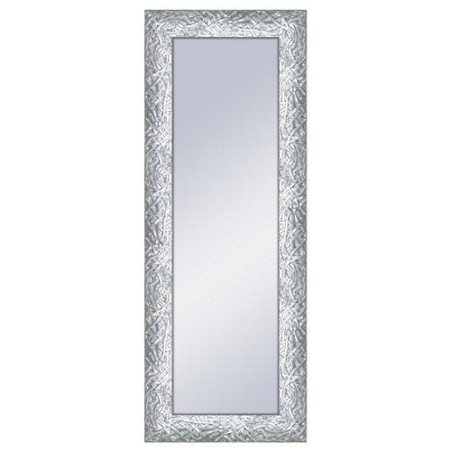 Espejo rectangular eric brillo plata 160 x 60 cm