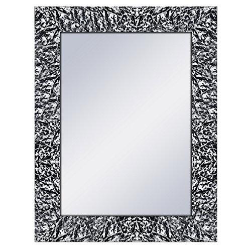 Espejo rectangular jovi negro 69 x 89 cm
