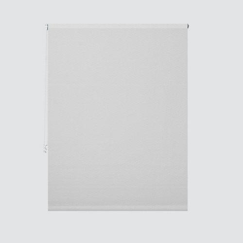 Estor enrollable translúcido turín blanco medida 135x190 cm