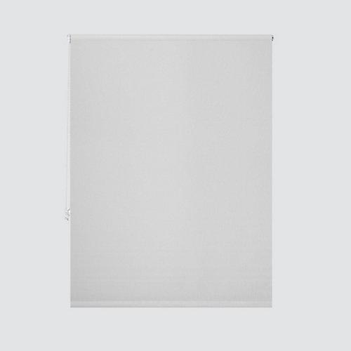 Estor enrollable translúcido alba blanco medida 120x250 cm