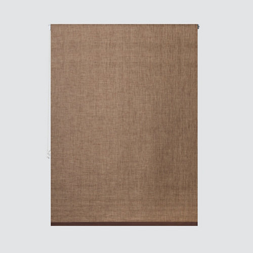 Estor enrollable screen sídney marrón medida 120x245 cm