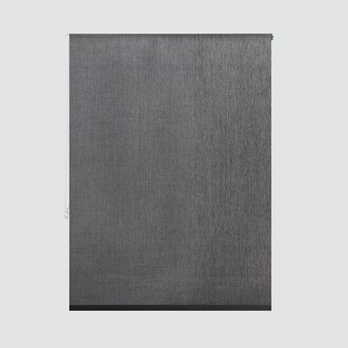 Estor enrollable screen piamonte gris medida 120x245 cm