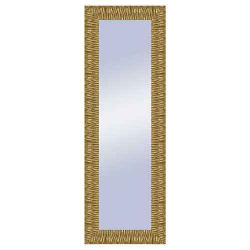 Espejo rectangular sophie oro dorado 136.4 x 46.4 cm