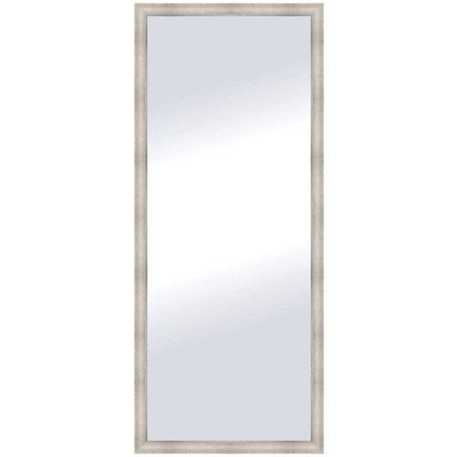 Espejo rectangular zoe plata plata 138 x 58 cm
