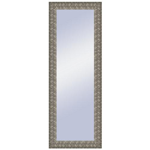 Espejo rectangular melanie plata plata 156.4 x 56.4 cm