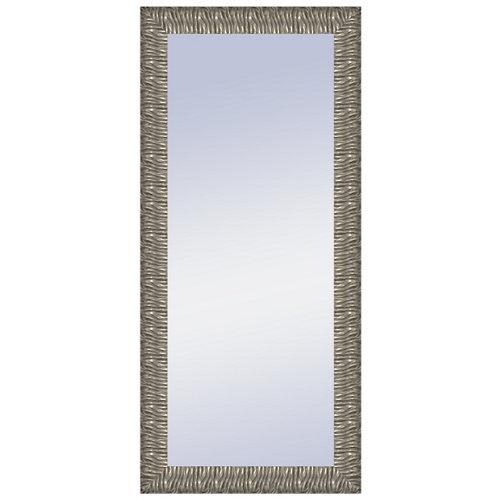 Espejo rectangular melanie plata plata 146.4 x 66.4 cm