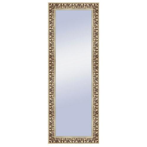 Espejo rectangular gisele barroco plata 157 x 57 cm