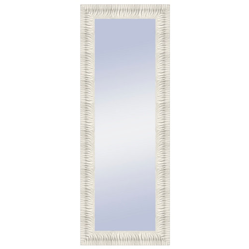 Espejo rectangular imane lacado blanco 158 x 58 cm
