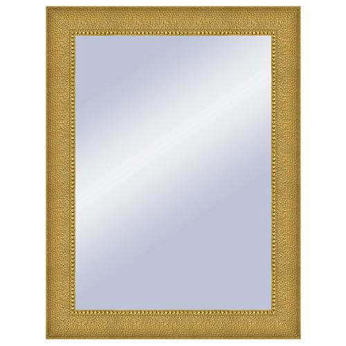 Espejo rectangular jules oro dorado 64 x 84 cm