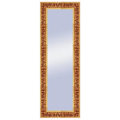 Espejo rectangular liliane barroco dorado 137 x 47 cm