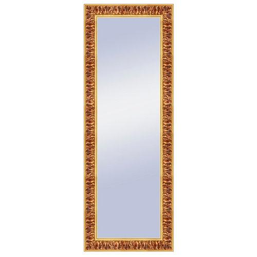 Espejo rectangular liliane barroco dorado 157 x 57 cm