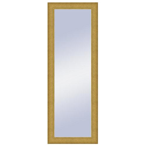 Espejo rectangular jules oro dorado 154 x 54 cm
