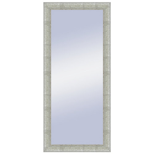 Espejo rectangular olivia plata plata 144 x 64 cm