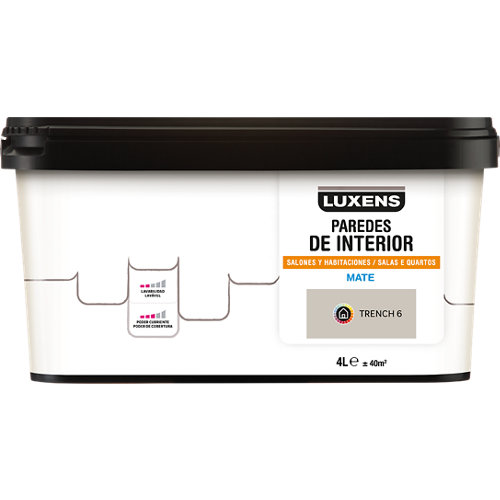 Pintura luxens 4l trench 6