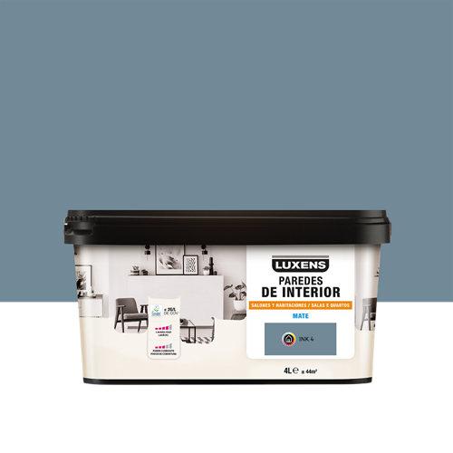 Pintura salones y habitaciones luxens 4l ink 4