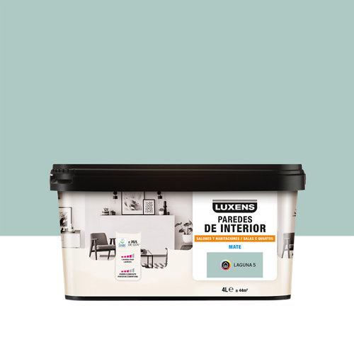 Pintura salones y habitaciones luxens 4l laguna 5