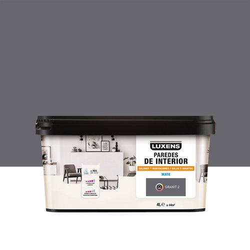 Pintura salones y habitaciones luxens 4l granit 2