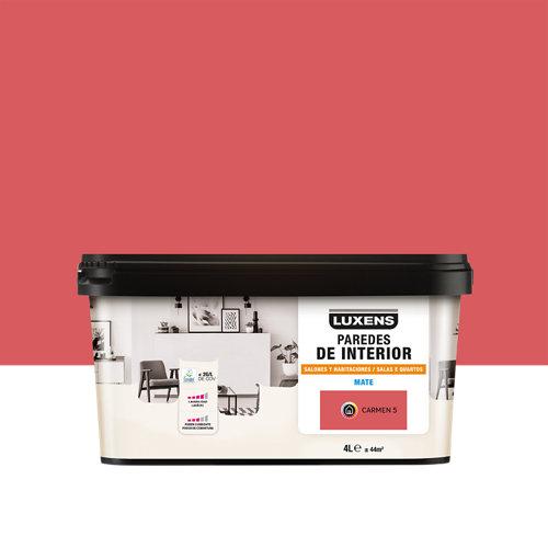 Pintura salones y habitaciones luxens 4l carmen 5