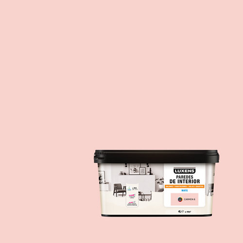 Pintura salones y habitaciones luxens 4l carmen 6