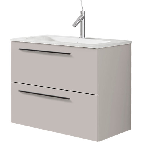 Mueble baño mia beige 60 x 45 cm