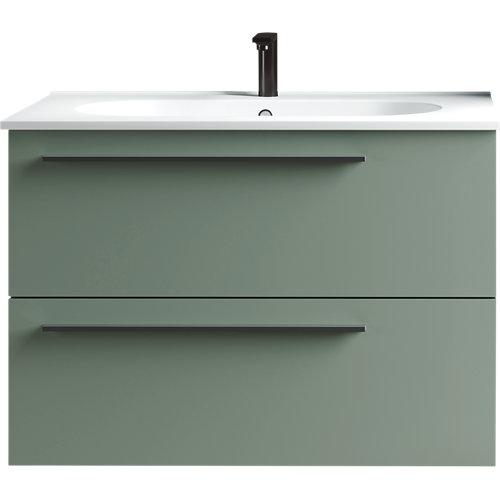 Mueble baño mia verde 80 x 45 cm