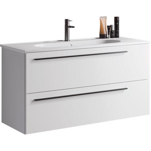 Mueble de baño mia blanco 100 x 45 cm