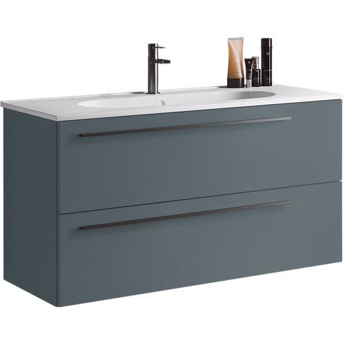 Mueble baño mia azul 100 x 45 cm
