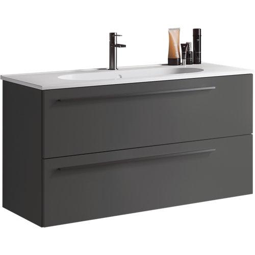 Mueble de baño mia antracita 100 x 45 cm
