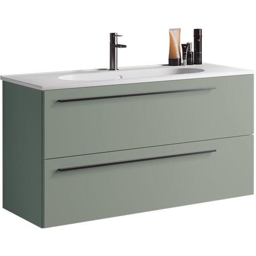 Mueble de baño mia verde 100 x 45 cm