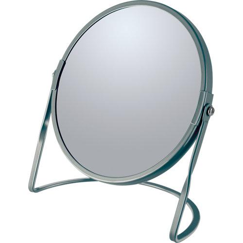 Espejo de aumento akira x5 gris / plata