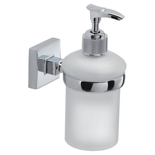 Dispensador de jabón olimpo cristal