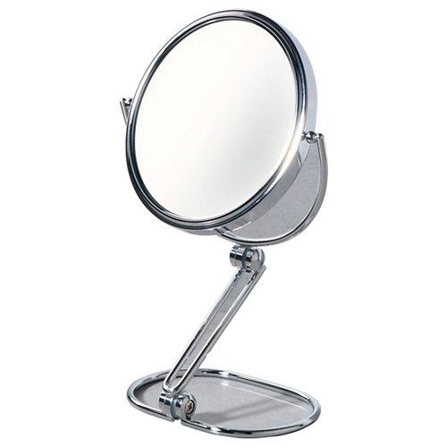 Espejo aumento cromo 5 x