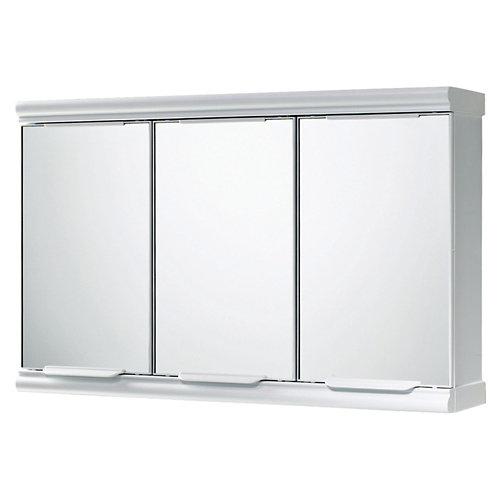 Armario de baño con espejo princess blanco 58x14x38 cm