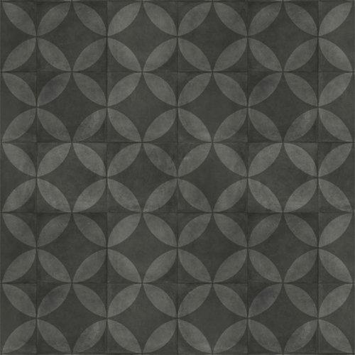 Suelo vinilico tarkett exclusive 240 flower black. mínimo 6m²