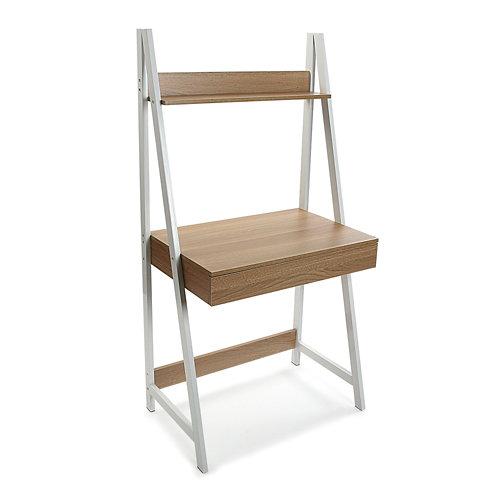 Mesa de escritorio olympia roble claro 74x74x48 cm