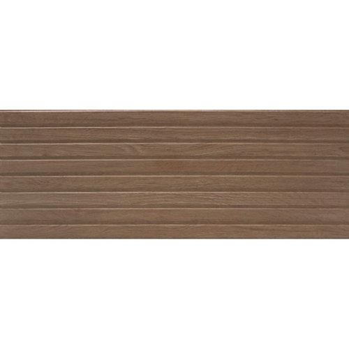 Revestimiento serie japón 33,30x90 color nogal