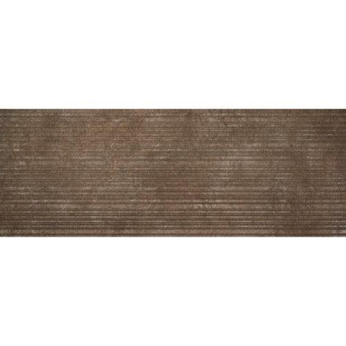 Revestimiento serie jasper ry90 33,3x90 color óxido rectificado