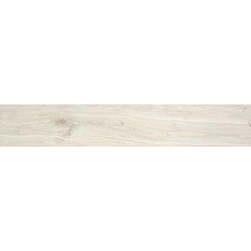 Porcelanico esmaltado woodville blanco 15x90