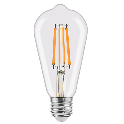 Bombilla led filamento st64 8w 4000k lexman