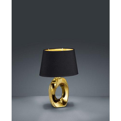 Sobremesa reality taba 33 cm altura dorada y negra
