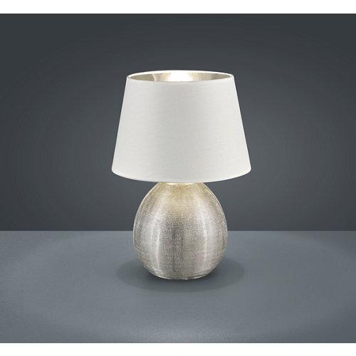 Sobremesa reality luxor altura 35 cm plateado y blanco