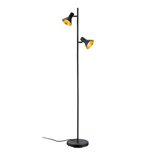 Lámpara de pie reality nina 2 focos negro
