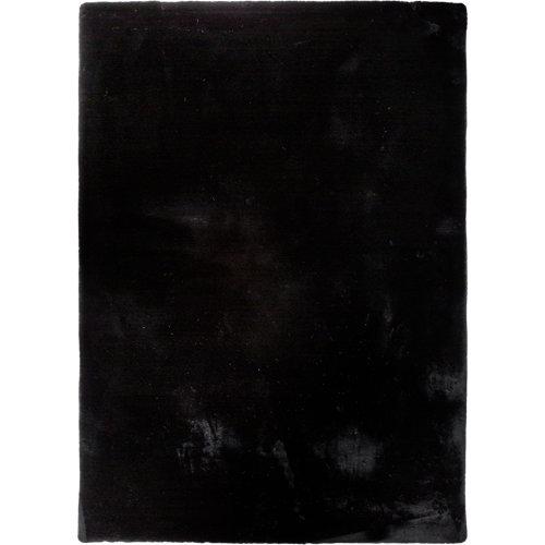 Alfombra fox negro 120x180 cm