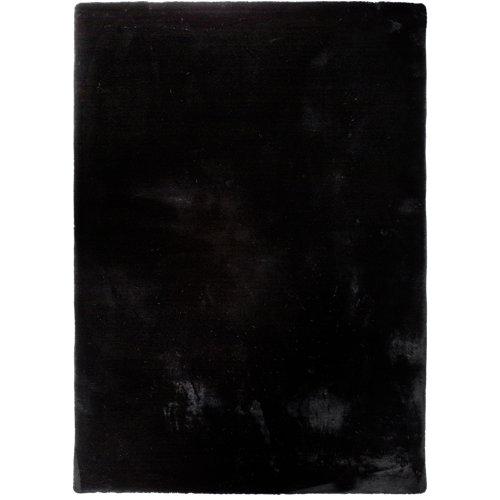 Alfombra fox negro 160x230 cm